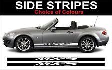 Mazda mx5 side stripe decals mx5 large
