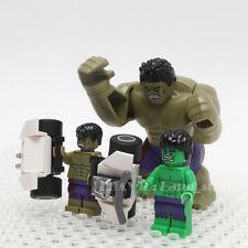 LEGO Marvel Super Heroes Avengers the HULK Minifigures 5000022+5003084+76031