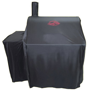 Char-Griller 5555 Grill Cover, Fits 2121, 2828 and all Smokers Black