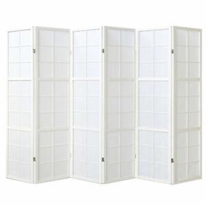Paravent Raum Teiler Trenner Spanische Trenn Wand Holz Faltbar Weiß Homestyle4u