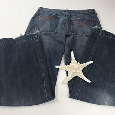 7 For All Mankind Dojo Jeans sz.29 Flare Denim Pants Clothing Designer