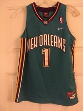 New Orleans Hornets Baron Davis No. 1 Medium Boy's (12/14) Nike Jersey - Used