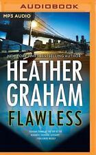 Heather Graham FLAWLESS Unabridged MP3-CD *NEW* FAST 1st Class Ship!