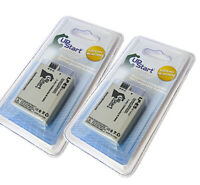 2x Battery for Canon Rebel XS, EOS Rebel XS, EOS Rebel T1I, EOS 450D, Kiss X3