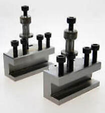 2 SPARE QUICK CHANGE TOOLPOST HOLDERS COMPATIBLE WITH MYFORD LATHE