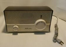 ☆ VINTAGE RARE BAKELITE SILVERTONE MODEL NO.1002 SEARS ART DECO ANTIQUE AM RADIO