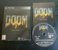 Doom 3 BFG Edition Playstation PS3 Video Game Manual PAL /w Slipcase