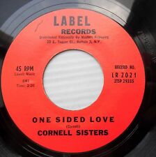 CORNELL SISTERS rock&roll LABEL Records 45 Walking Along / One Sided Love F3007