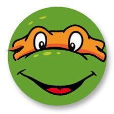 "Pin Button Badge Ø25mm 1"" Tortues Ninja Teenage Mutant Turtles TMNT Michelangelo"