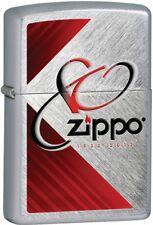 Zippo 80th Anniversary Herringbone Sweep Windproof Lighter 28192 *HARD TO FIND*