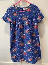 Cath Kidston Blue Floral Dress Age 3-4 Years
