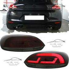 REAR LED TAIL LED LIGHTS BAR RED-SMOKE FOR VW SCIROCCO 08-14 NEW