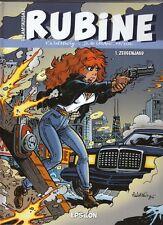Rubine Nr. 1 - 4 Gesamtausgabe Hardcover Comic v. Waltery / de Lazare / Mythic