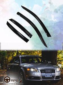 For Audi A4 00-06 B6 Wagon Avant Deflector Window Visors Guard Vent Shield