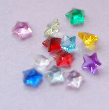 FULL SET 12 PCS CRYSTAL GEM Birthstone Floating Charms FOR living locket ~STAR