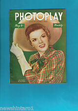 #T42.  PHOTOPLAY  MONTHLY MOVIE  MAGAZINE, MAY 1946, JUDY GARLAND  COVER