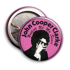 John Cooper Clarke  -  Button Badge - 25mm 1 inch -