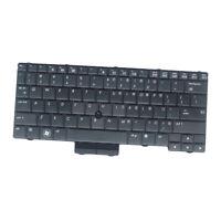 Standard US English Layout Keyboard Black Frame for HP Elitebook 2540P 2540