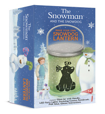 The Snowman and The Snowdog Make Your Own Lantern - Childrens Christmas  Gift
