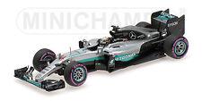 MINICHAMPS - MERCEDES  F1 W07 HYBRID HAMILTON  WINNER ABU DHABI GP 2016 1/43