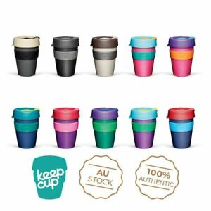KeepCup Original PLASTIC Reusable Coffee Tea Keep Cup Lightweight NEW 8/12/16oz