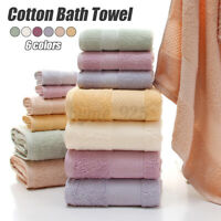 100% Cotton Bath Towel Face Care Hand Cloth Soft Towel Bathroom for Adults