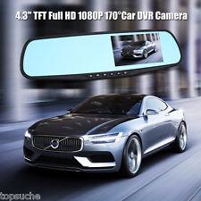 "4.3"" Car DVR HD 1080P 170° Digital Video Camera Recorder Night Vision Dash Cam"