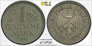 1957-J GERMANY-FEDERAL REPUBLIC Mark PCGS MS63