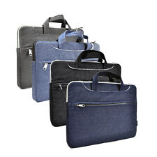"Denim Fabric Sleeve Bag Case for All 13"" Macbook /Air /Pro /Chromebook"