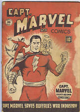 Captain Marvel V3 #5 Anglo-American Pub 1944 CANADIAN EDITION (READING COPY)