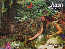 2010 KUSH DailyBuds Kushism OG Bud of the Month MARIJUANA ~ Denver Ganja POSTER