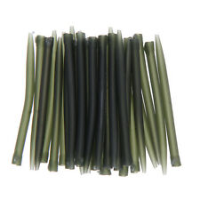 30pcs 53mm Anti Tangle Sleeves Carp Fishing Tackle Accessories Outdoor Green