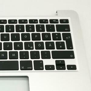 """New Topcase for Macbook Pro Retina 13"""" A1502 top case with German keyboard"""