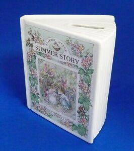 Brambly Hedge Ceramic Savings Book Summer 1989 Money Box