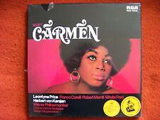 Georges Bizet - Carmen  Karajan  RCA Red Seal Club Edition 3er LP Box NEU OVP