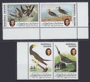 Bird Sea Birds Marshall Islands mi No 31 - 34, Mint MNH