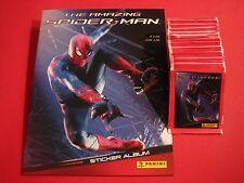 Panini The Amazing Spiderman 50 Tüten + Album - 250 Sticker  TOP NEU