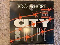 Too Short City Of Dope Vinyl Lp Single