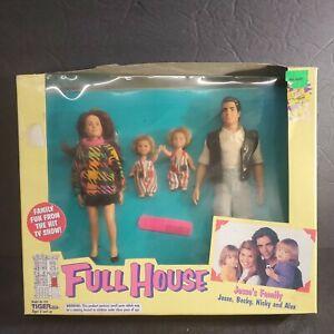 Vintage Full House Dolls Jesse's Family Jesse Becky Nicky Alex 1993 Tiger