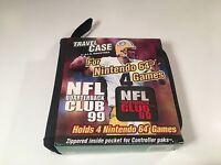* Nintendo 64 Travel Case N64 NFL Quarterback Club 99 A.I.S. Industries