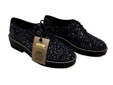 Chaussures femme Noir avec paillettes multicouleurs Mtng Taille 38 FR/ 7.5 US