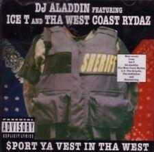 Dj Aladdin - $port Ya Vest In Tha West ICE T CD NEU