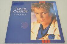David Cassidy - Romance - Pop 80er - Album Vinyl Schallplatte LP