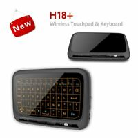 Full Screen Touch Keyboard Wireless Air Mouse Mini Keyboard Backlight Touchpad