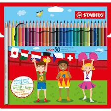 30 x Stabilo Color Colouring Pencils - Includes Neon Colours - 1930/77-01