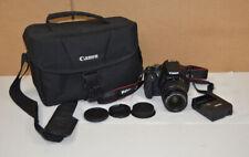 Canon EOS Rebel T5 / EOS 1200D 18.0MP Digital SLR Camera - Black (Kit w/ EF-S I