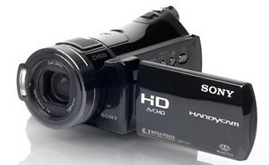 Sony HDR-CX6 High Definition Memory Stick Camcorder-Used