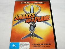 """SNAKES ON A PLANE,  DVD,   horror  """"preowned"""" SAMUEL JACKSON SAVES THIS """"LMAO"""""""