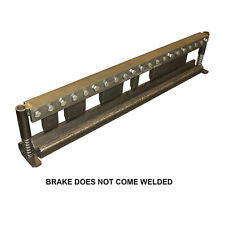 """40"""" Finger Press Brake DIY Builder Kit With Adjustable Back Stop"""