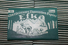 WW2 German Efka Cigarette Rolling Papers Pack,Unissued from Original Maker's Box